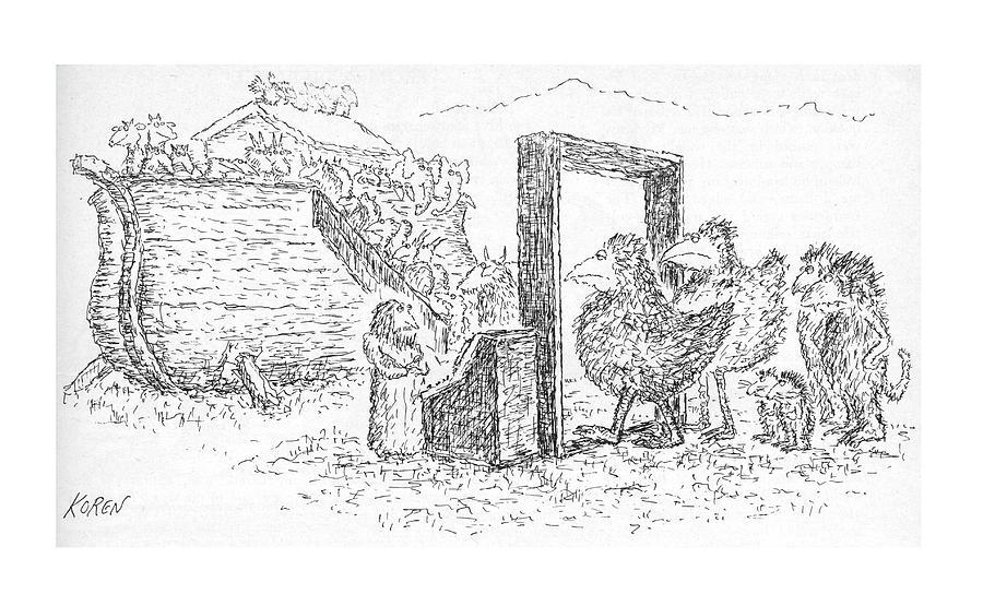 New Yorker November 24th, 1975 Drawing by Edward Koren