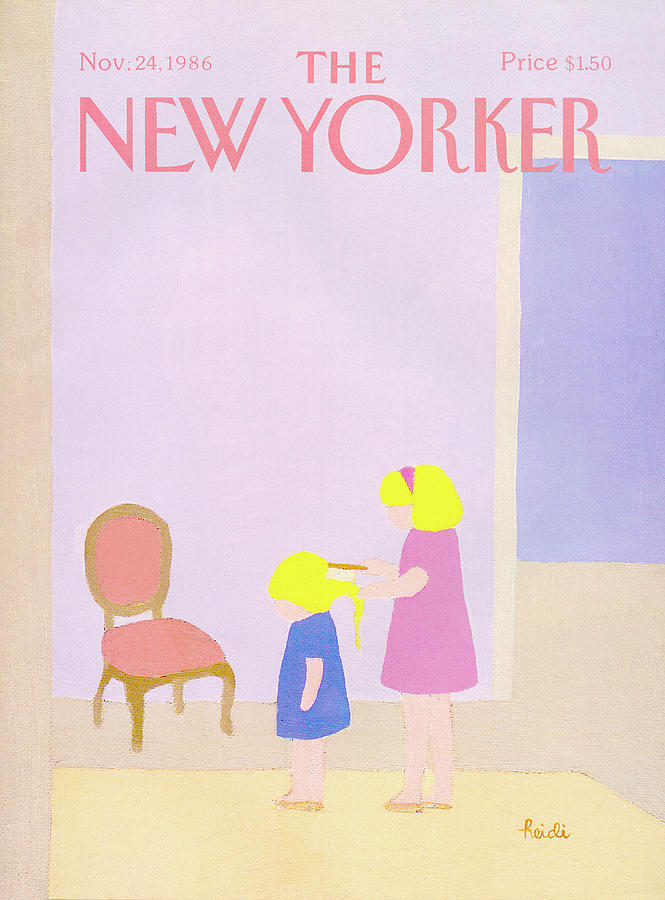 New Yorker November 24th, 1986 Painting by Heidi Goennel