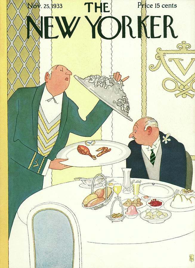 New Yorker November 25th, 1933 Painting by Gardner Rea