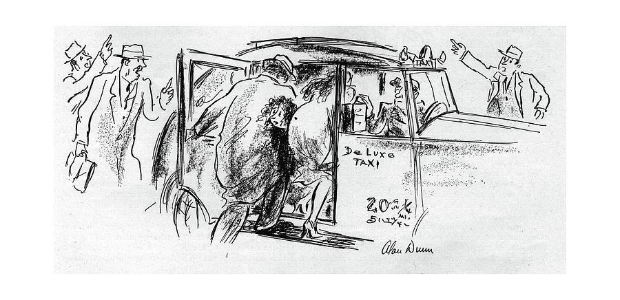New Yorker November 25th, 1944 Drawing by Alan Dunn