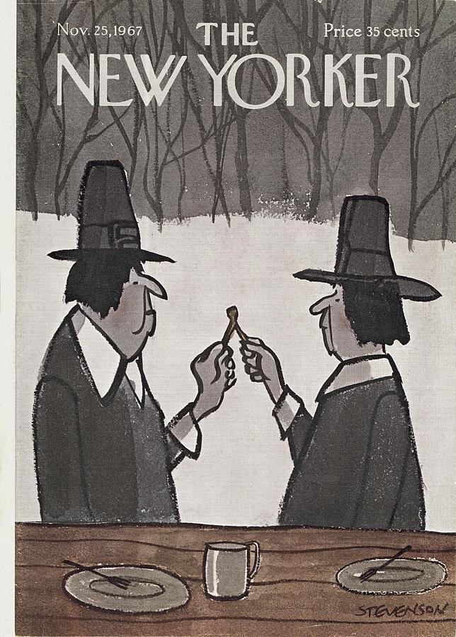 New Yorker November 25th, 1967 Painting by James Stevenson