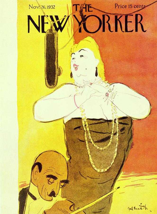 New Yorker November 26 1932 Painting by William Crawford Galbraith