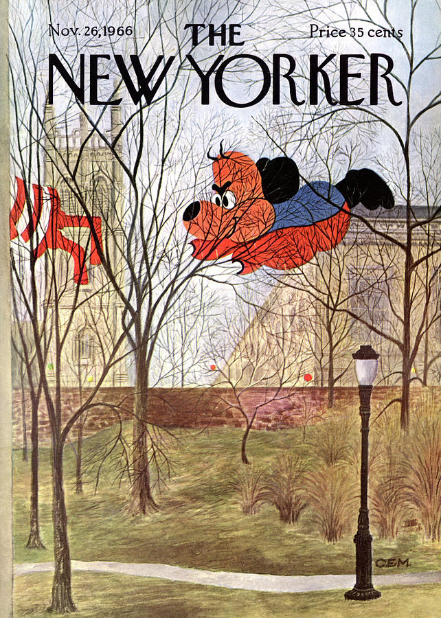 New Yorker November 26th, 1966 Painting by Charles E Martin
