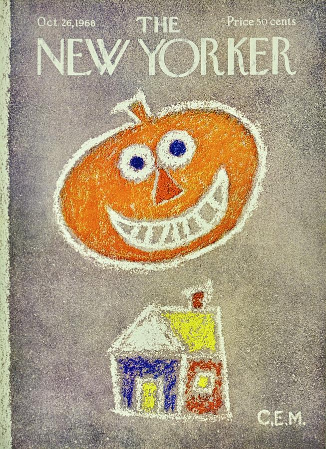 New Yorker November 26th 1968 Painting by Charles E Martin