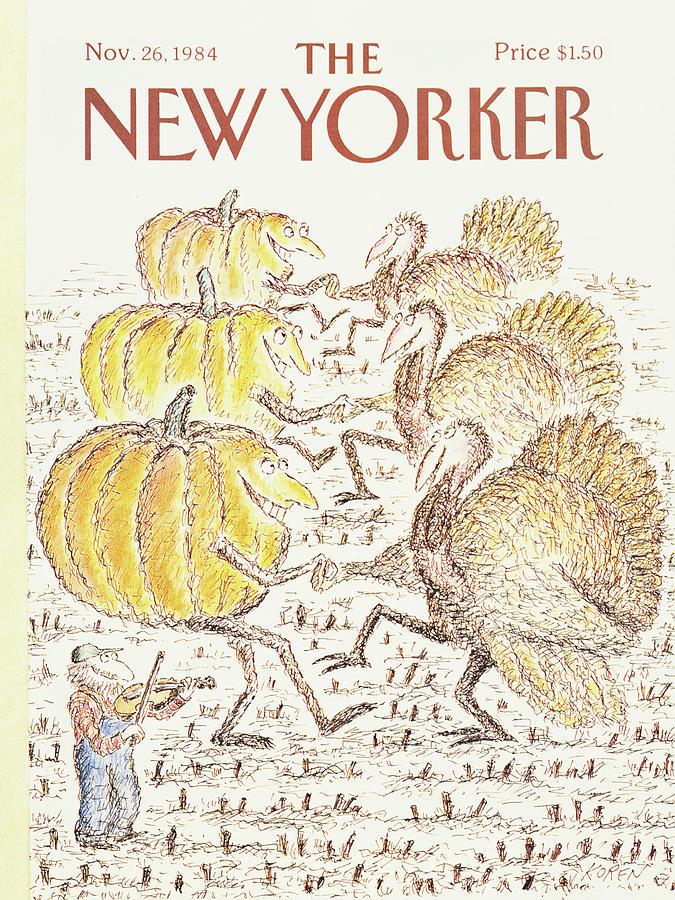 New Yorker November 26th, 1984 Painting by Edward Koren