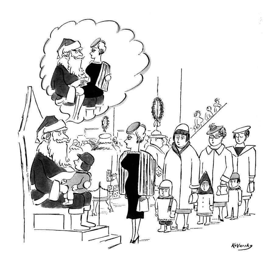 New Yorker November 28th, 1959 Drawing by Anatol Kovarsky