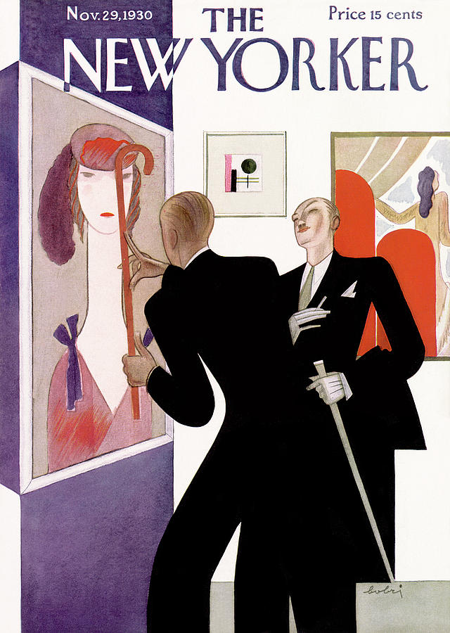 New Yorker November 29th, 1930 Painting by Victor Bobritsky