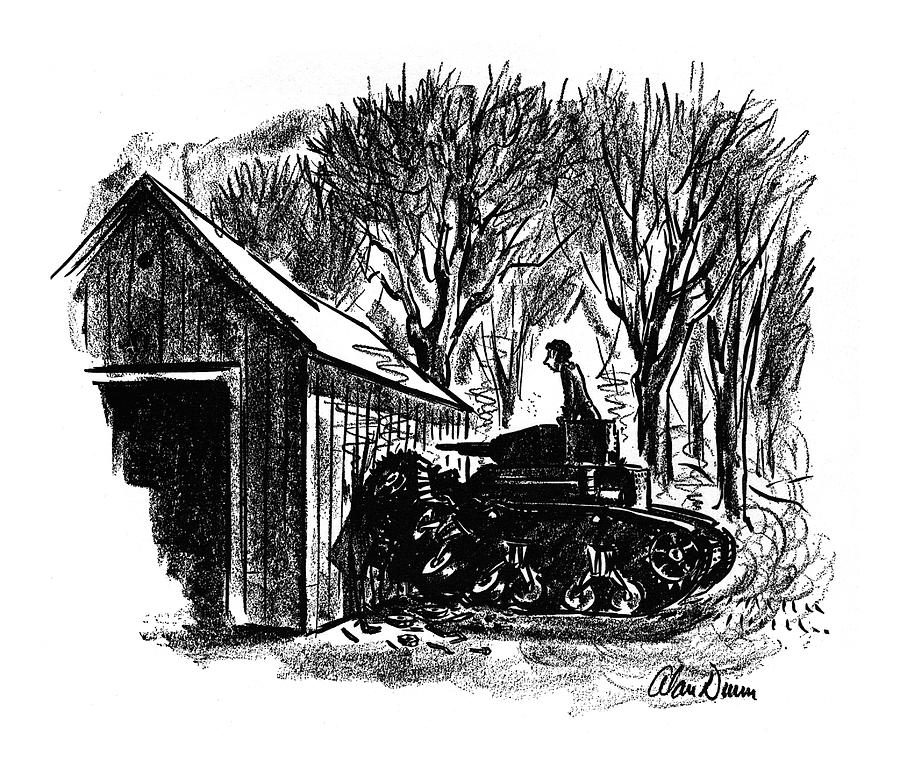 New Yorker November 29th, 1941 Drawing by Alan Dunn