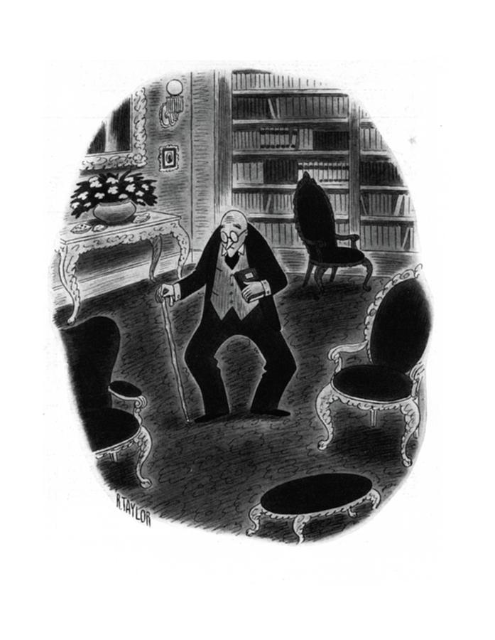New Yorker November 29th, 1941 Drawing by Richard Taylor
