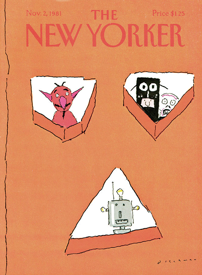 New Yorker November 2nd, 1981 Painting by RO Blechman