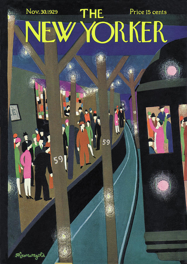 New Yorker November 30th, 1929 Painting by Adolph K Kronengold