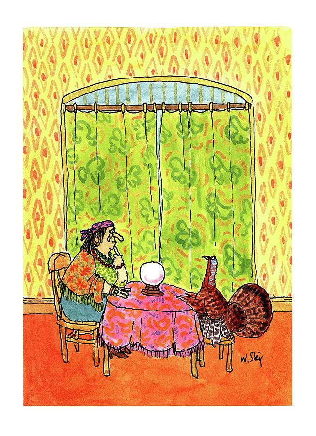 New Yorker November 30th, 1992 Drawing by William Steig