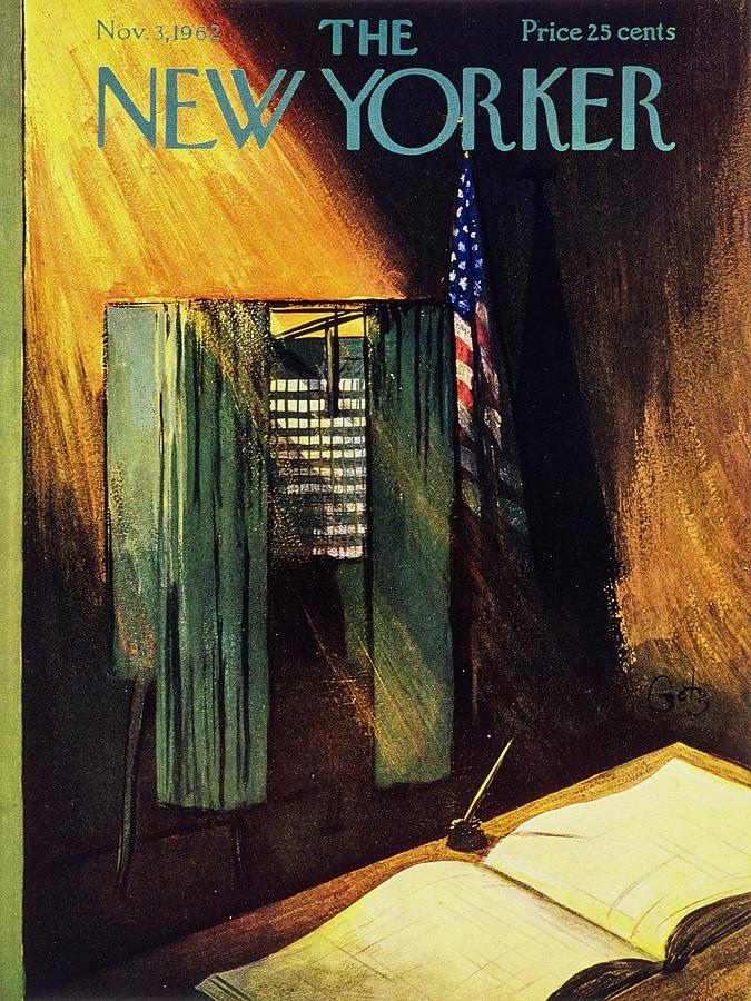 New Yorker November 3rd 1962 Painting by Arthur Getz