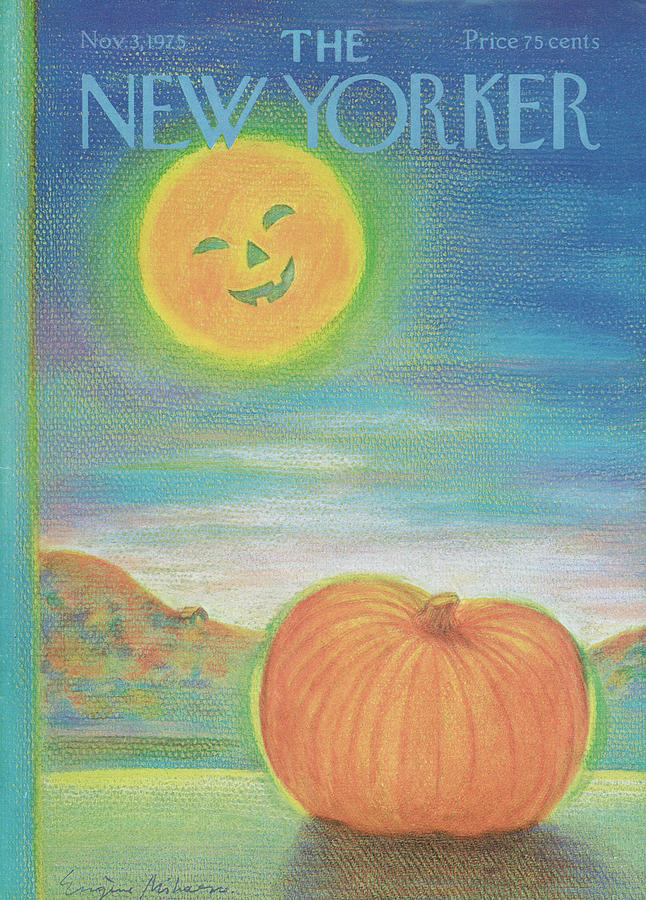 New Yorker November 3rd, 1975 Painting by Eugene Mihaesco
