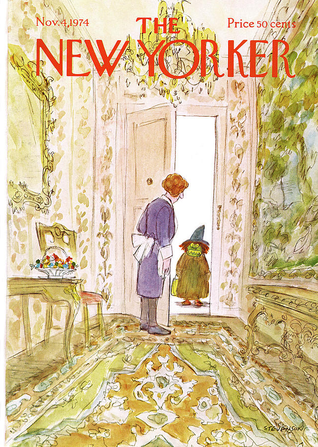New Yorker November 4th, 1974 Painting by James Stevenson