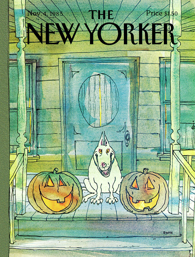 New Yorker November 4th, 1985 Painting by George Booth
