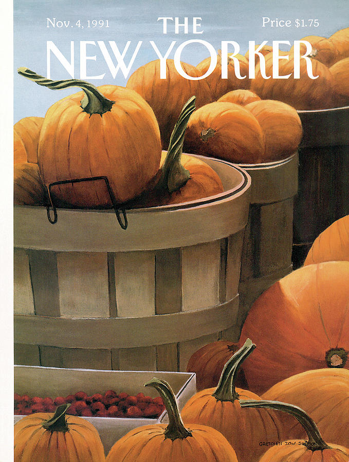 New Yorker November 4th, 1991 Painting by Gretchen Dow Simpson
