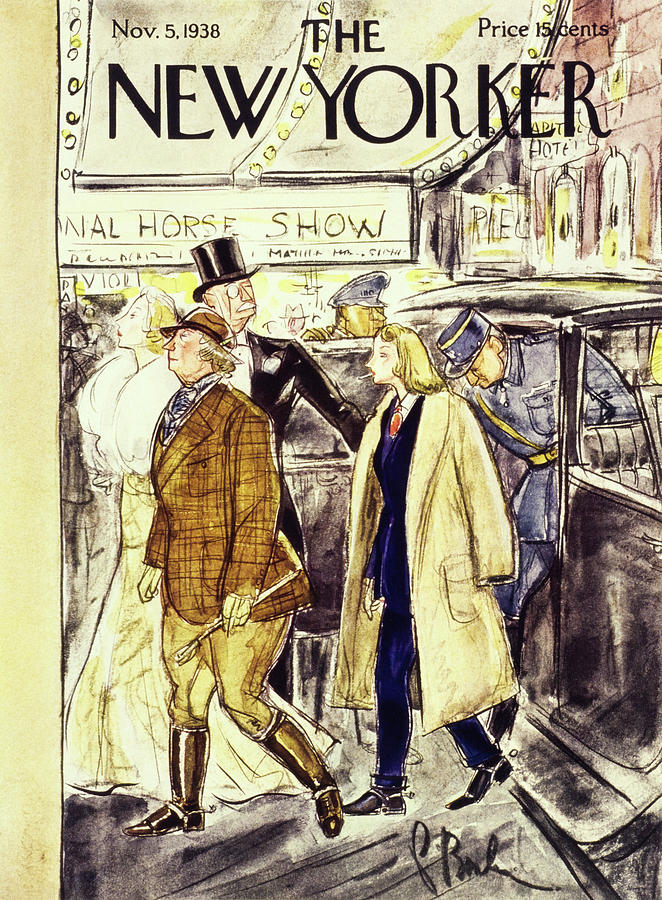 New Yorker November 5 1938 Painting by Perry Barlow