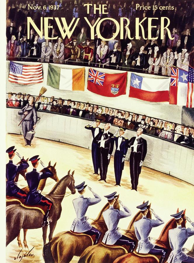New Yorker November 6 1937 Painting by Constantin Alajalov