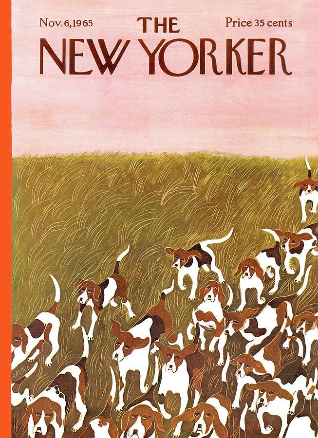 New Yorker November 6th, 1965 Painting by Ilonka Karasz