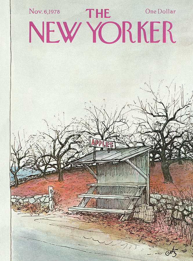 New Yorker November 6th, 1978 Painting by Arthur Getz