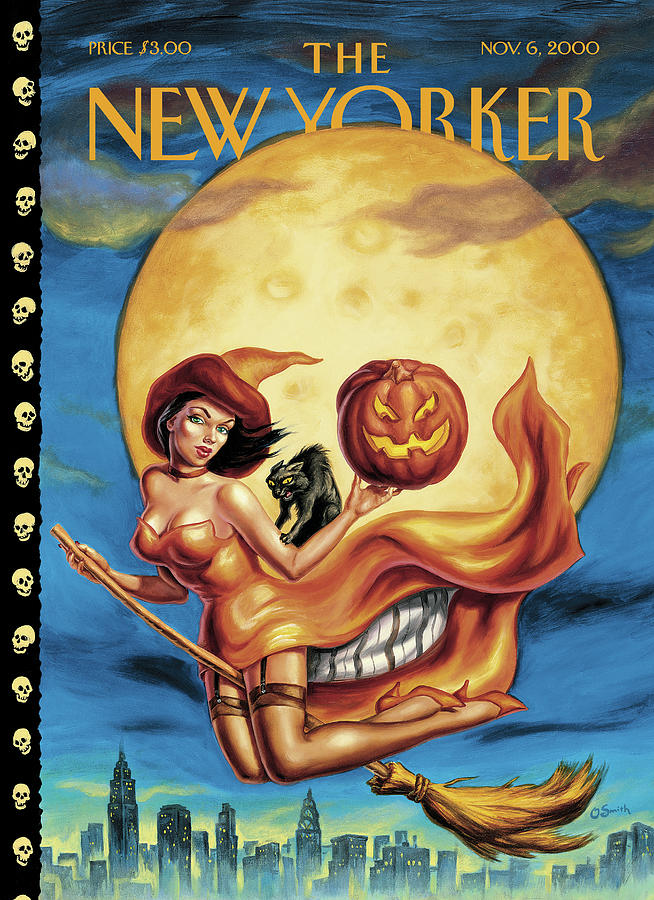 New Yorker November 6th, 2000 Painting by Owen Smith