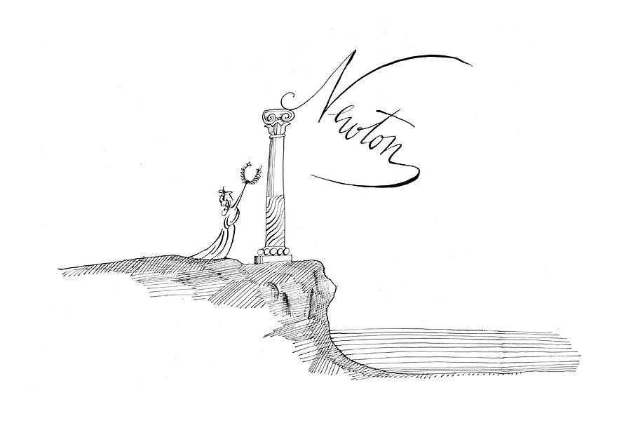 New Yorker November 7th, 1964 Drawing by Saul Steinberg
