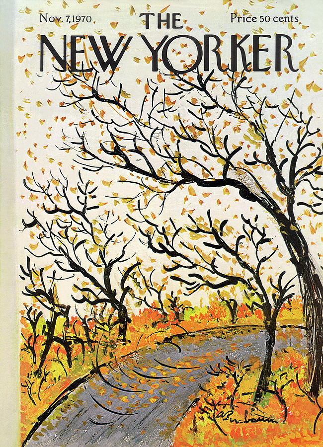 New Yorker November 7th, 1970 Painting by Abe Birnbaum