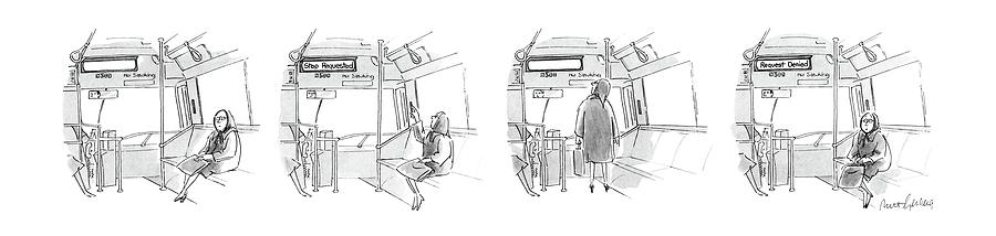 New Yorker November 7th, 1988 Drawing by Mort Gerberg
