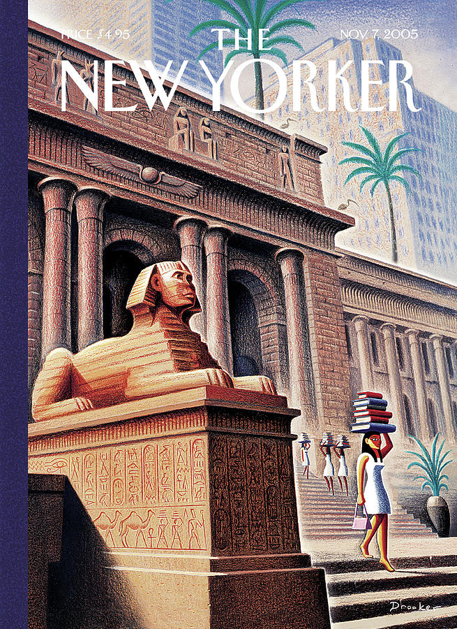 New Yorker November 7th, 2005 Painting by Eric Drooker