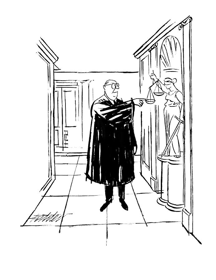New Yorker November 9th, 1963 Drawing by Mischa Richter