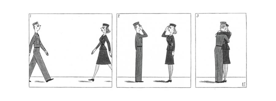 New Yorker October 10th, 1942 Drawing by Richard Taylor