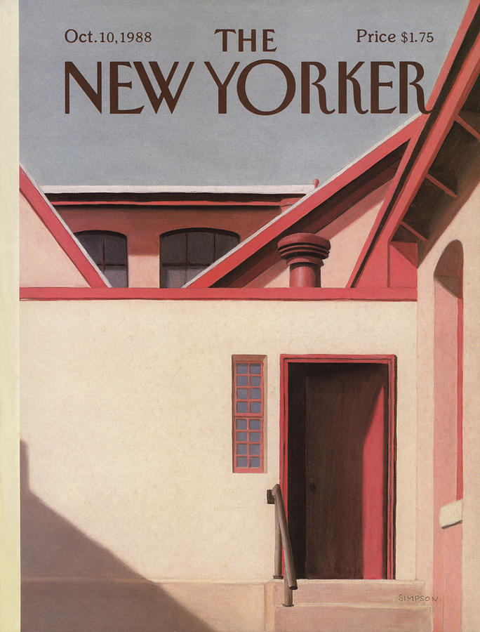 New Yorker October 10th, 1988 Painting by Gretchen Dow Simpson