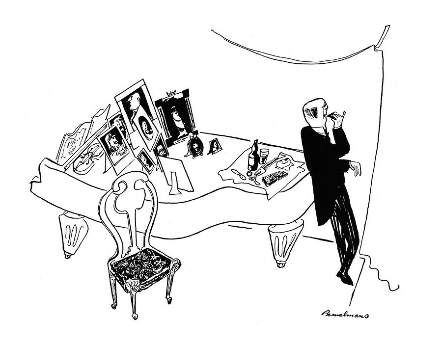 New Yorker October 11th, 1941 Drawing by Ludwig Bemelmans