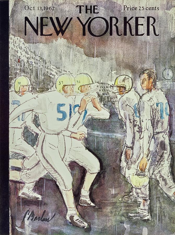 New Yorker October 13th 1962 Painting by Perry Barlow