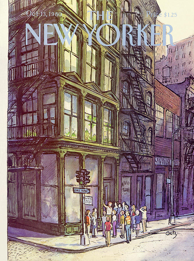 New Yorker October 13th, 1980 Painting by Arthur Getz