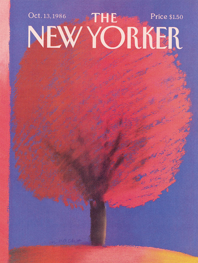 New Yorker October 13th, 1986 Painting by Merle Nacht