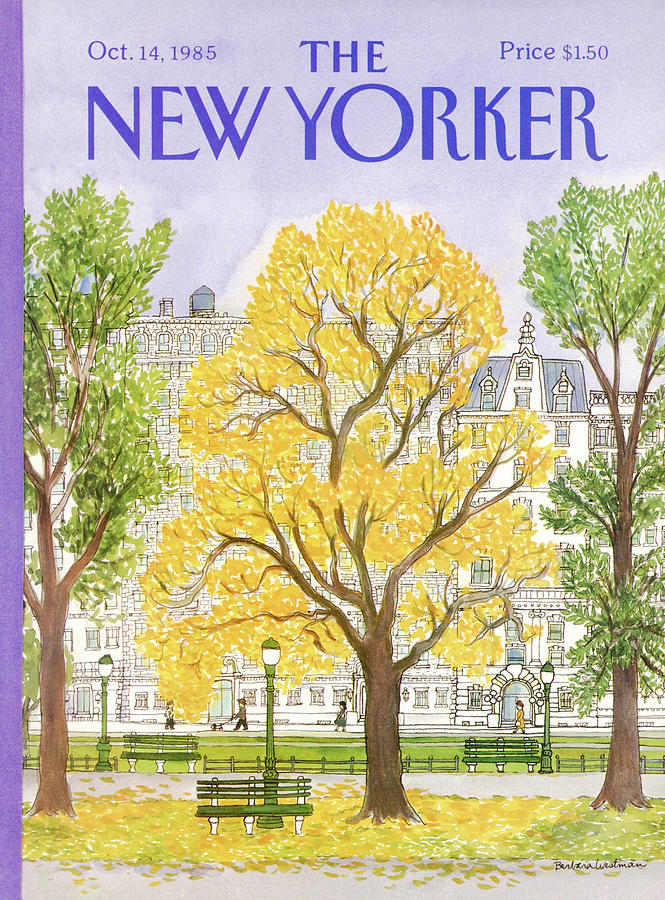 New Yorker October 14th, 1985 Painting by Barbara Westman