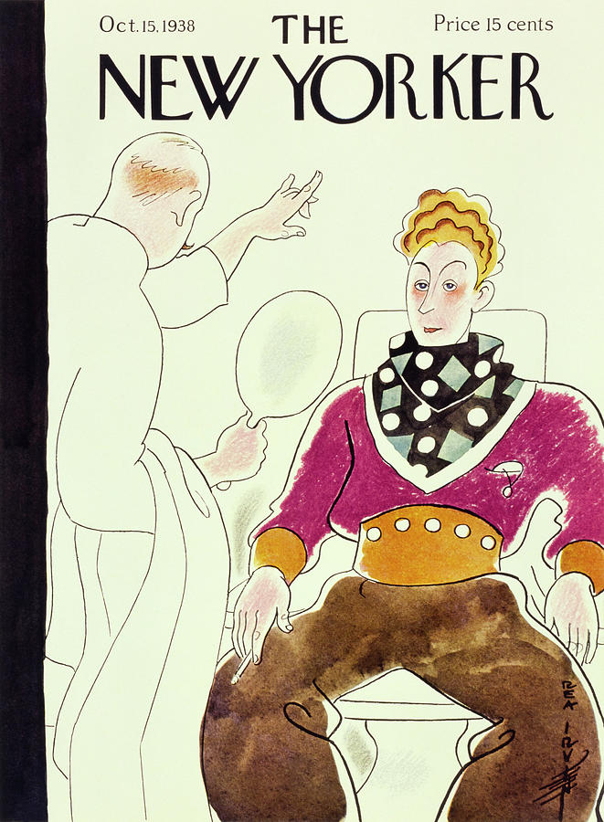 New Yorker October 15 1938 Painting by Rea Irvin