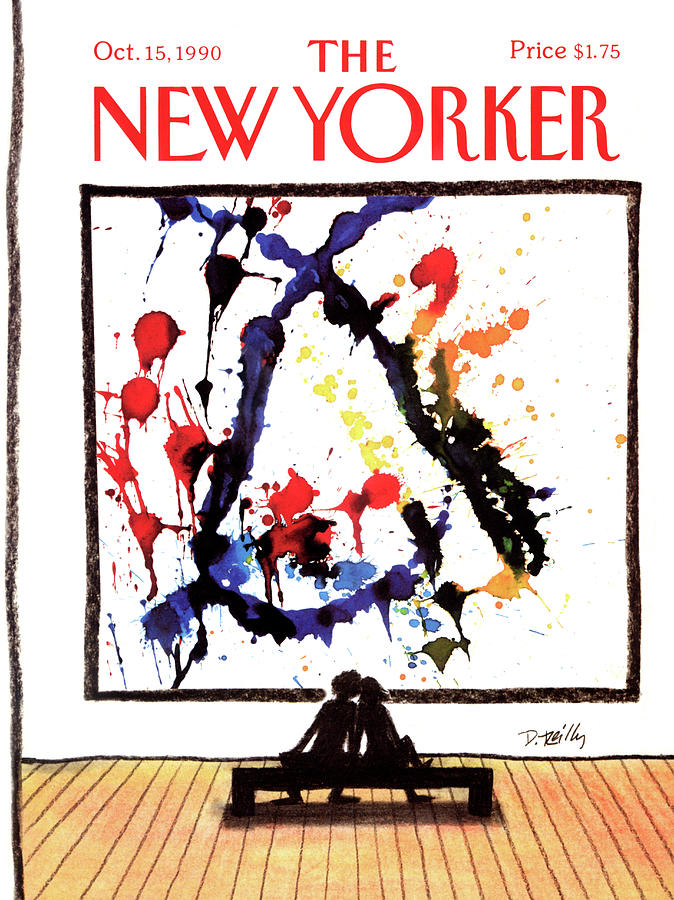 New Yorker October 15th, 1990 Painting by Donald Reilly