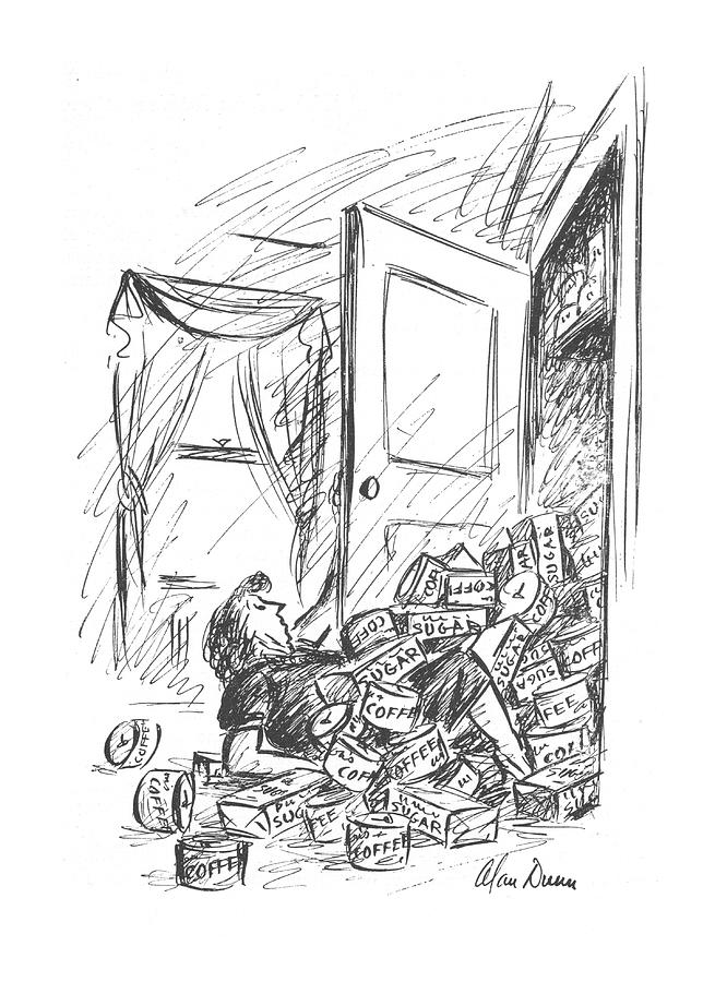 New Yorker October 16th, 1943 Drawing by Alan Dunn