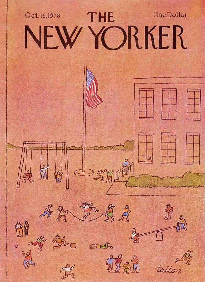 New Yorker October 16th 1978 Painting by Robert Tallon