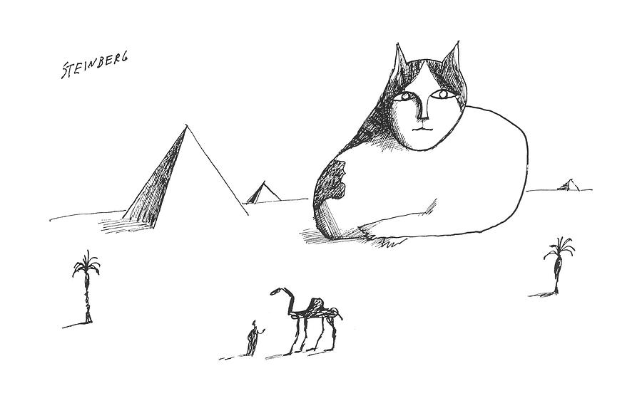 New Yorker October 17th, 1964 Drawing by Saul Steinberg