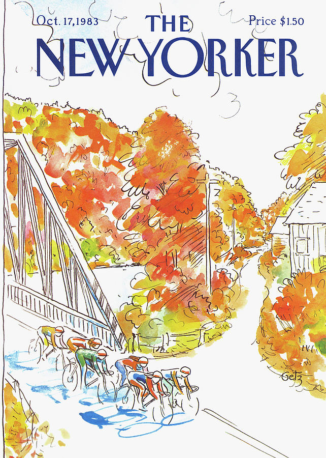 New Yorker October 17th, 1983 Painting by Arthur Getz