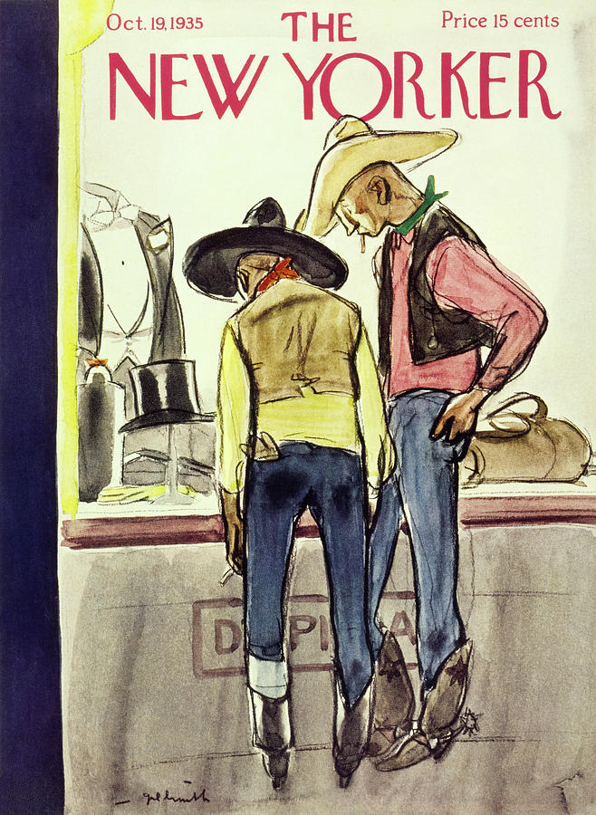 New Yorker October 19 1935 Painting by William Crawford Galbraith