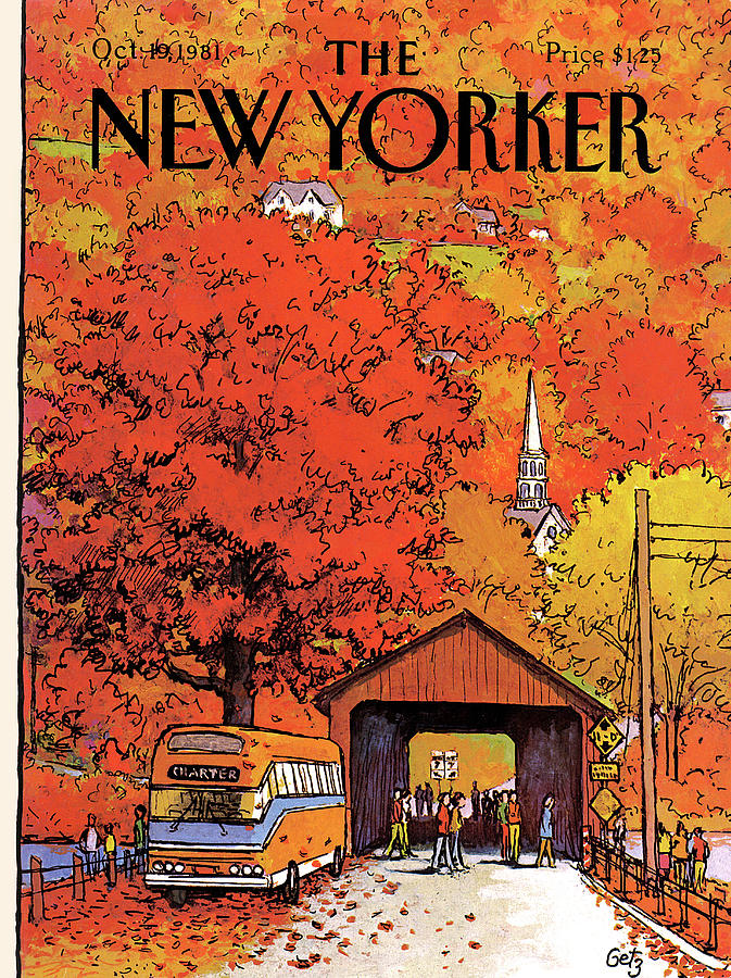 New Yorker October 19th, 1981 Painting by Arthur Getz