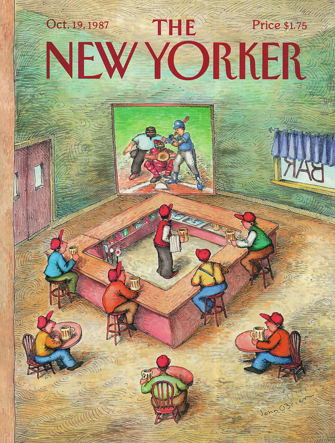 New Yorker October 19th, 1987 Painting by John OBrien
