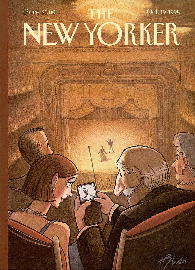 New Yorker October 19th, 1998 Painting by Harry Bliss