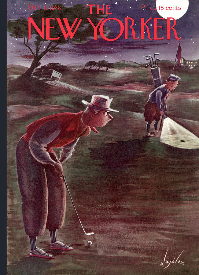 New Yorker October 1, 1938 Painting by Constantin Alajalov