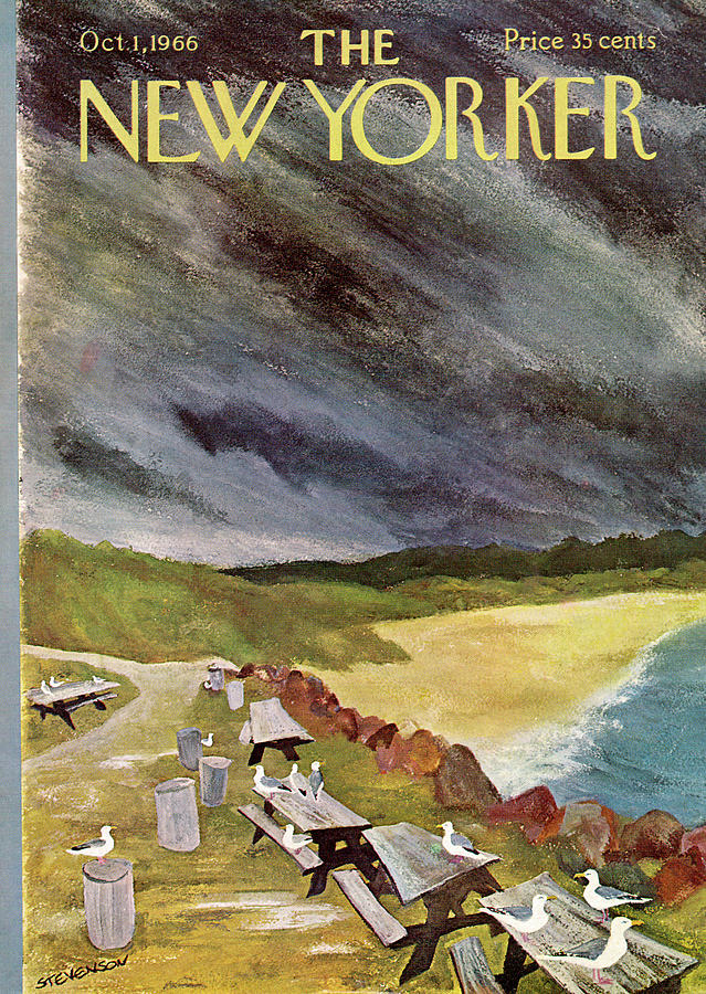 New Yorker October 1st, 1966 Painting by James Stevenson